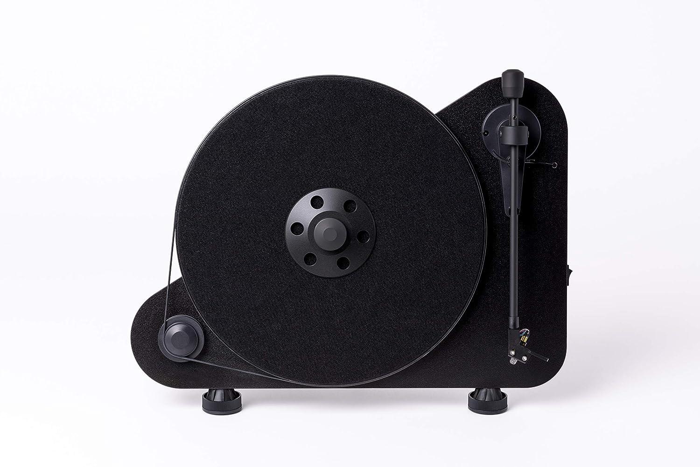Pro-Ject VT-E R (OM5e) - Tocadiscos Vertical, Color Negro: Amazon ...