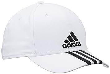 9386660075b adidas Men s Performance 3-Stripes Cap - White Black Black