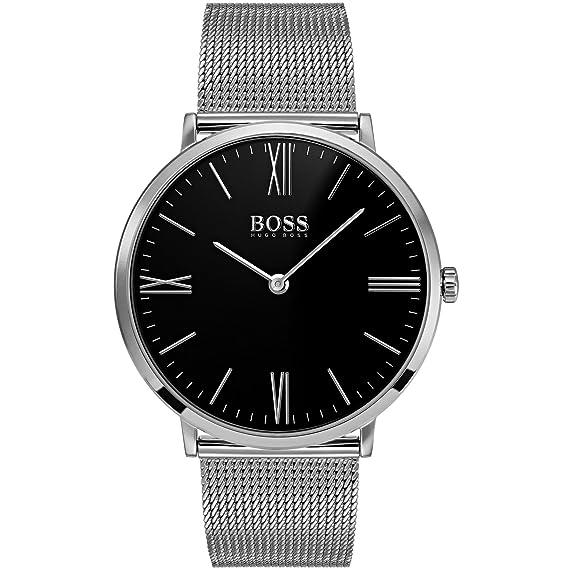 f01ee76a14c9 Hugo Boss 1513514 Jackson - Reloj para hombres color plateado 40 mm ...
