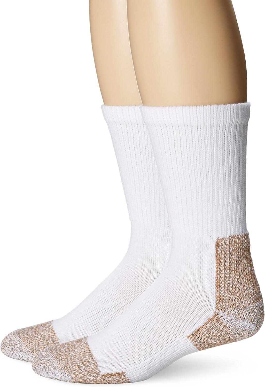 FoxRiver Heavyweight Steel-Toe Crew Cut Socks (2 Pack)