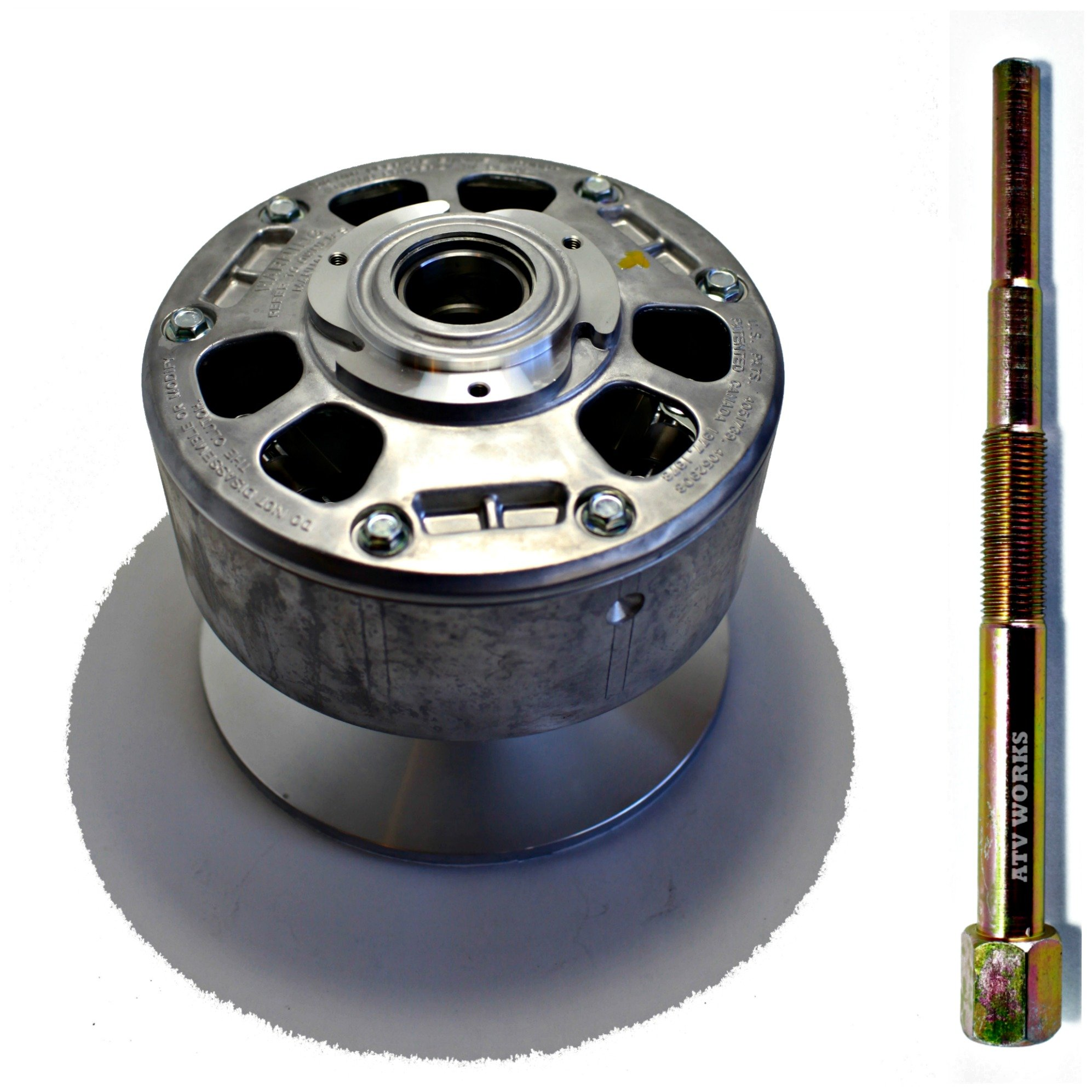KAWASAKI Mule 2510 Diesel 2000-2002 / 3010 4x4 Diesel 2003 Primary Drive Converter NEW OEM 49093-1068 w/ a Puller Tool Replacement by ATVWorks