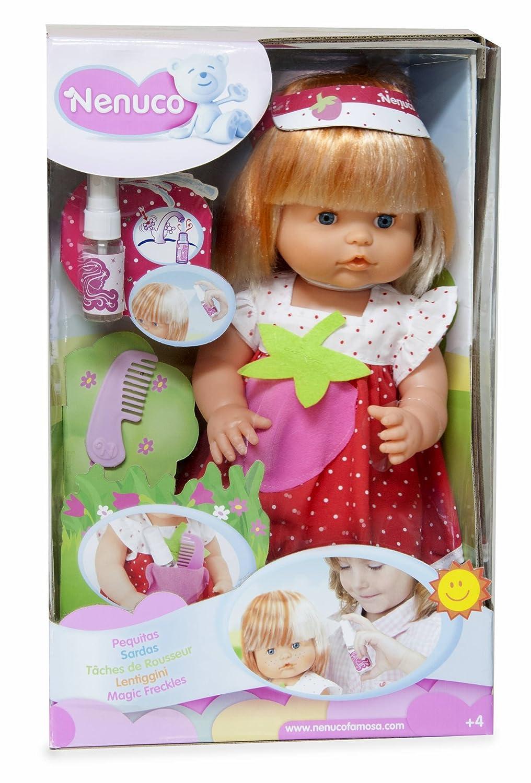 Amazon.es: Nenuco - Muñeco bebé pequitas (Famosa 700010318): Juguetes y juegos