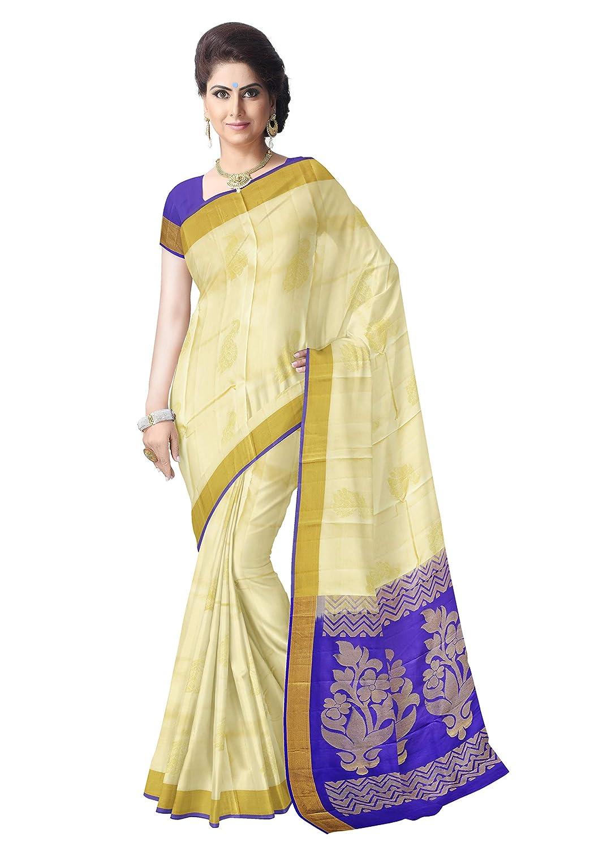 caaf05c5668674 Saravanabava Silks - Kanchipuram Silks Sarees Pure Pattu Soft Traditional  Sarees (Sandle)  Amazon.in  Clothing   Accessories