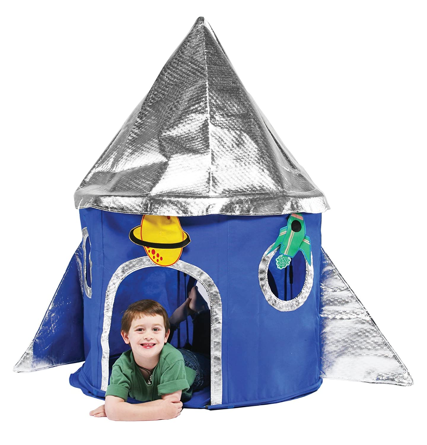 bazoongi special edition rocket play tent amazon co uk toys u0026 games