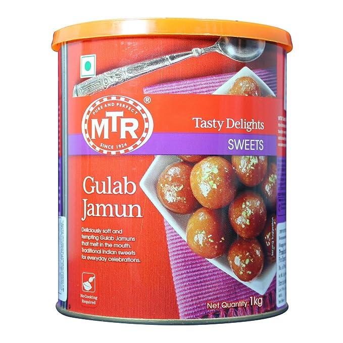 MTR Gulab Jamun Tin, 1kg