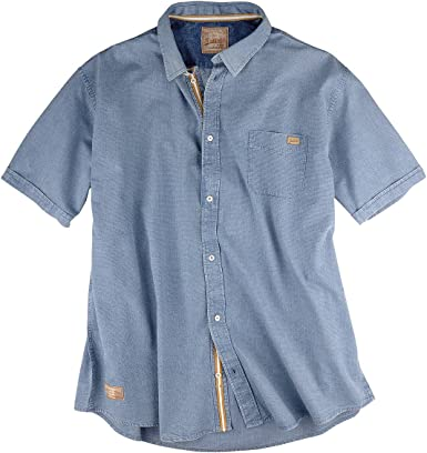 Redfield Camisa Manga Corta usada Estructura XXL jeansblue ...