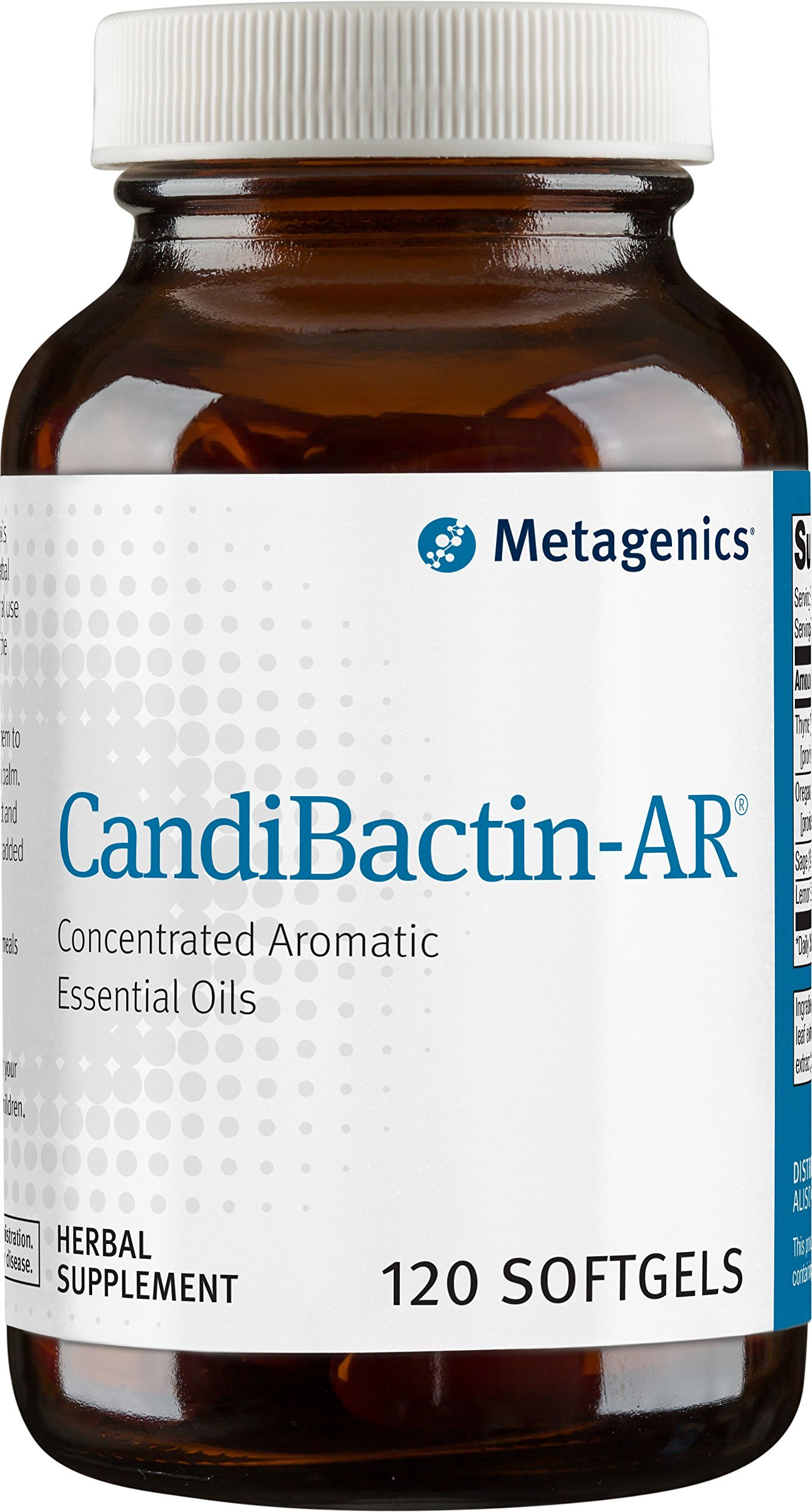 Metagenics Candibactin-AR Soft Gels, 120 Count by Metagenics