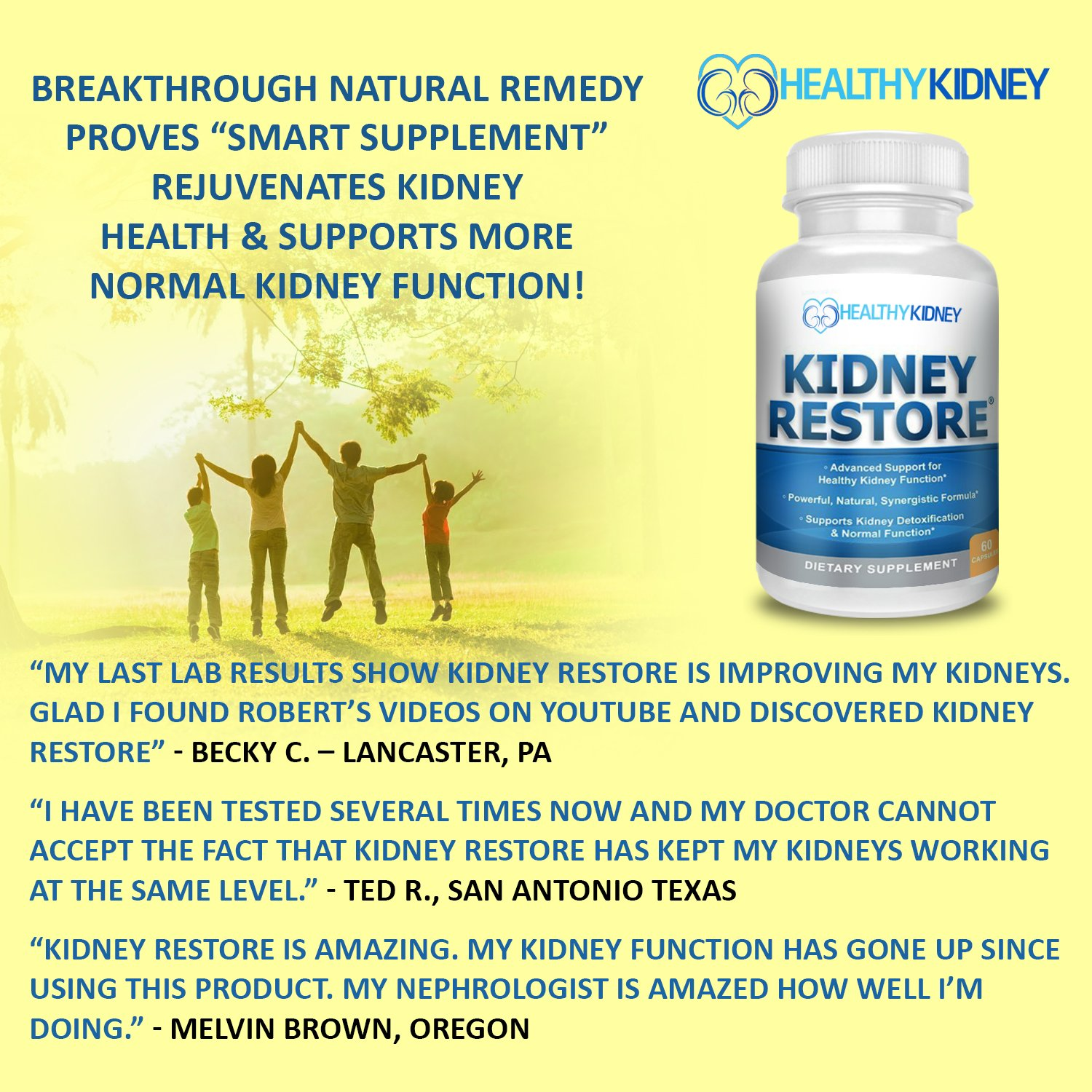Amazon Natural Kidney Cleanse To Support Kidney Function And