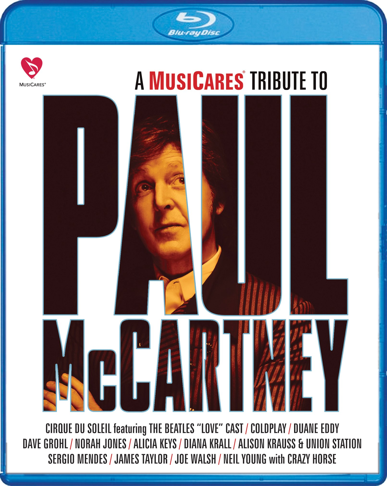 Blu-ray : Musicares Tribute to Paul McCartney (Blu-ray)