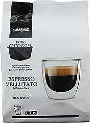Cápsulas de Café Espresso Vellutato Gimoka, Compatível com Dolce Gusto, Contém 16 Cápsulas