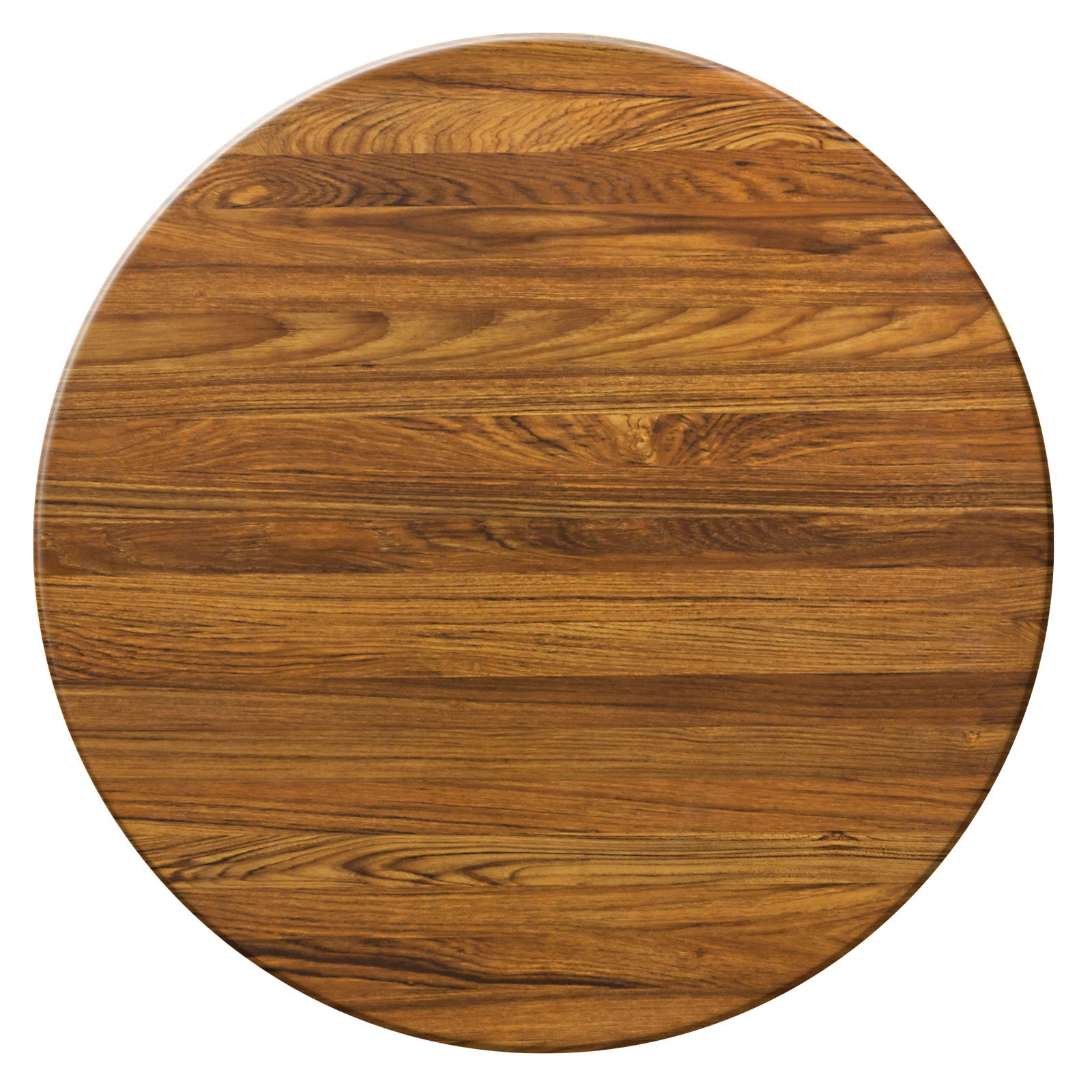 Duratop 42'' Round Table Top in Teak by Contract Style
