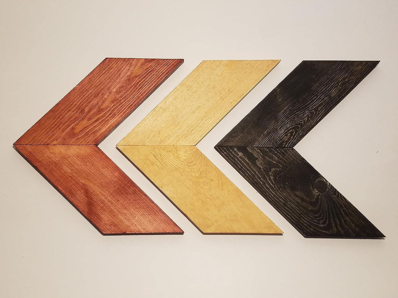 superb Chevron Wall Art Part - 8: Amazon.com: Torchlight Woodworking Rustic Look-Modern Design Handmade Chevron  Wall Art: Home u0026 Kitchen