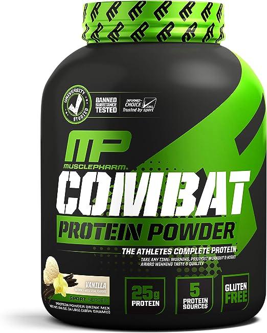 Musclepharm Combat Protein Powder Vanilla - 1855 gr