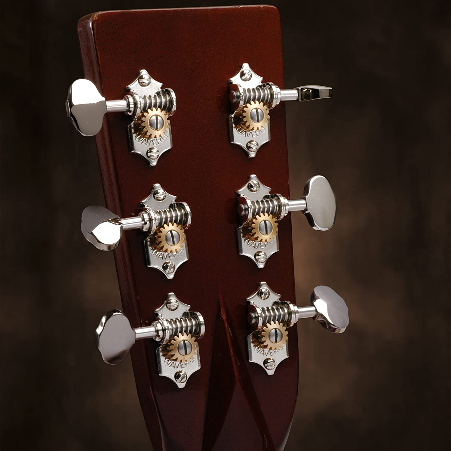 waverly guitar tuners with butterbean knobs for solid