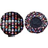 Dilly's Collections Large Luxury Waterproof Microfibre Shower Caps Bath Hat