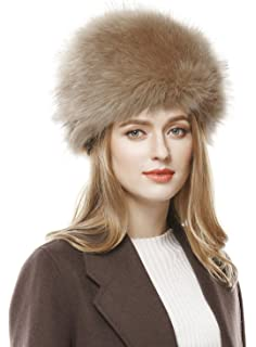 e0276ddc654e5 Amazon.com: Women Faux Fur Hat Vertily Teen Girls Thick Winter Copy ...