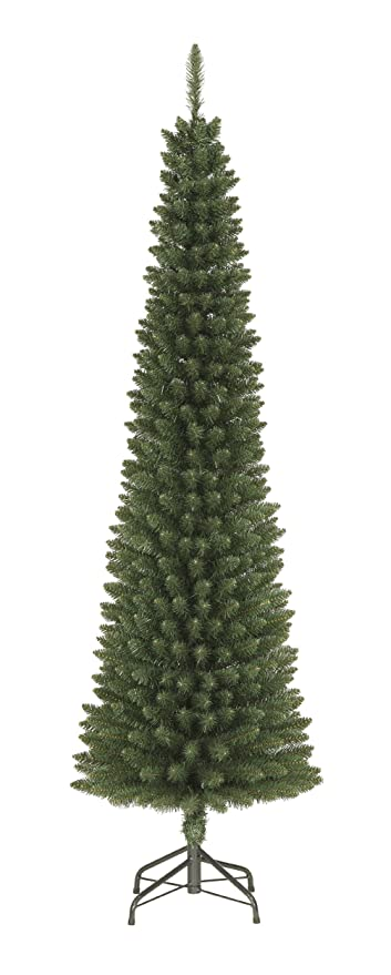 Pencil Christmas Tree.Festive Productions Space Saver Pencil Christmas Tree 6 5