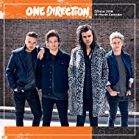 One Direction 2018 12 x 12 Inch Monthly Square Wall Calendar by Global