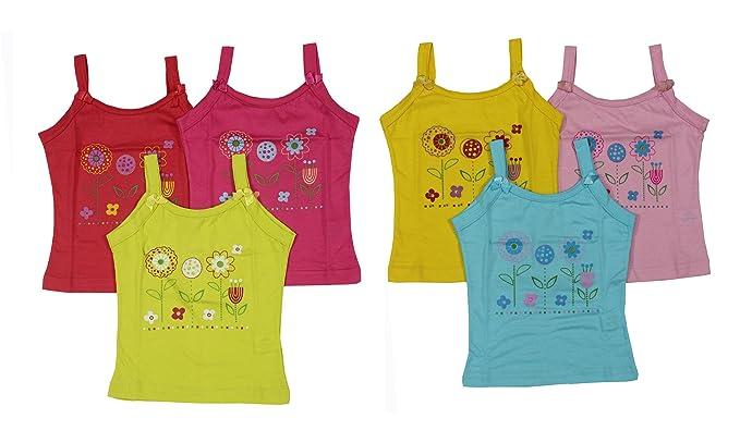 3f63bc9e0 Zoom Presents Baby Girls Cotton Cut Sleeveless Regular fit Vest ...