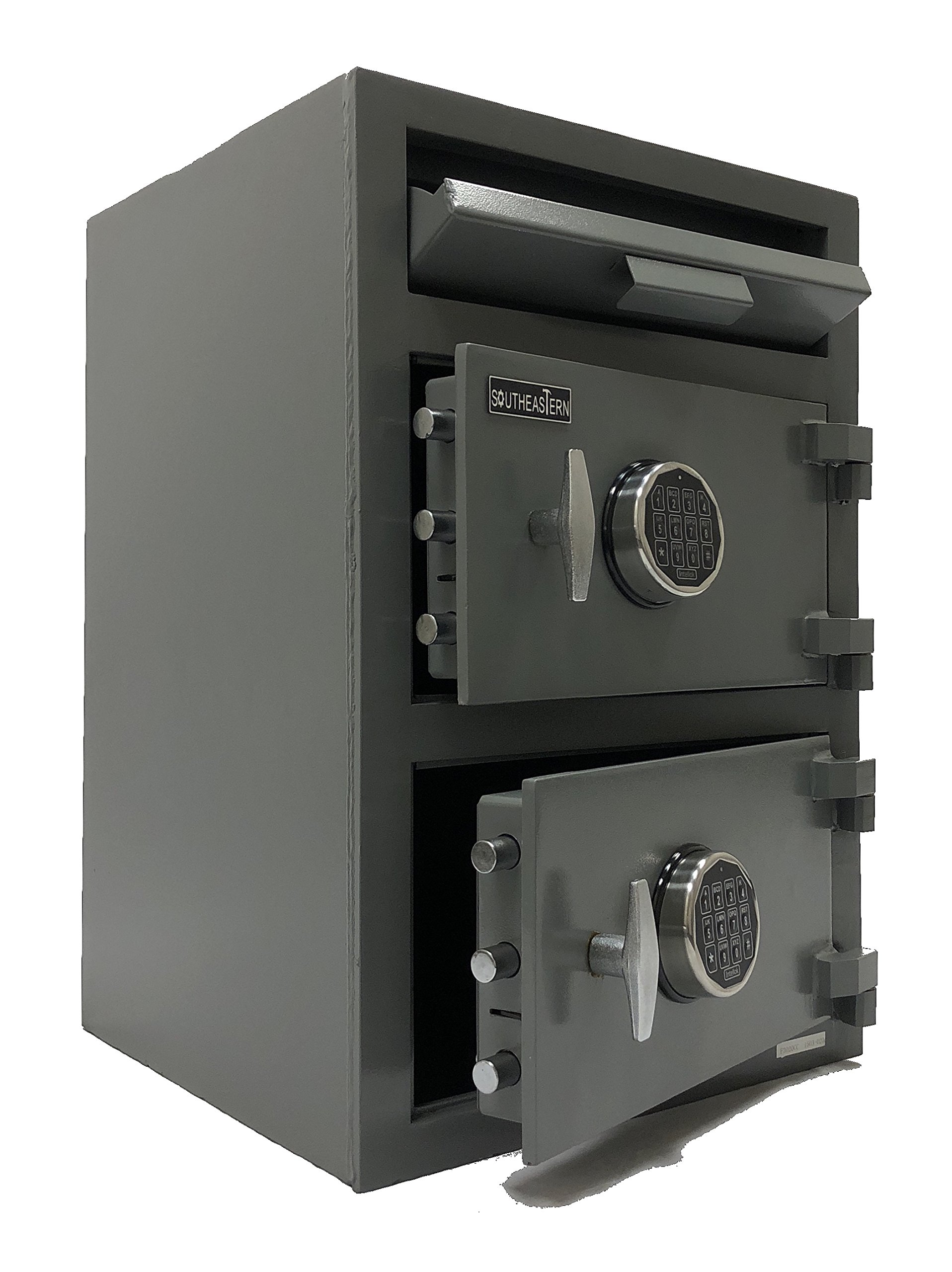 SOUTHEASTERN F3020EE Double Door Money Bag Drop Depository Safe with UL listed digital lock