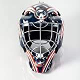 Franklin Sports Columbus Blue Jackets Goalie Mask - Team Graphic Goalie Face Mask - GFM1500 Only for Ball & Street - NHL Official Licensed Product