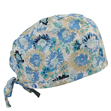 Amazon.com: GUOER Women\'s and Men\'s Scrub Cap Scrub Hat One Size ...