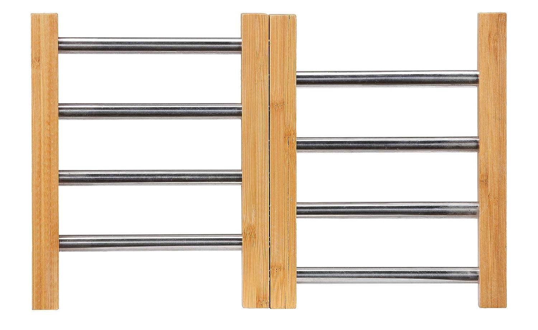 Cortesi Home Aubrey Expandable Bamboo Trivet
