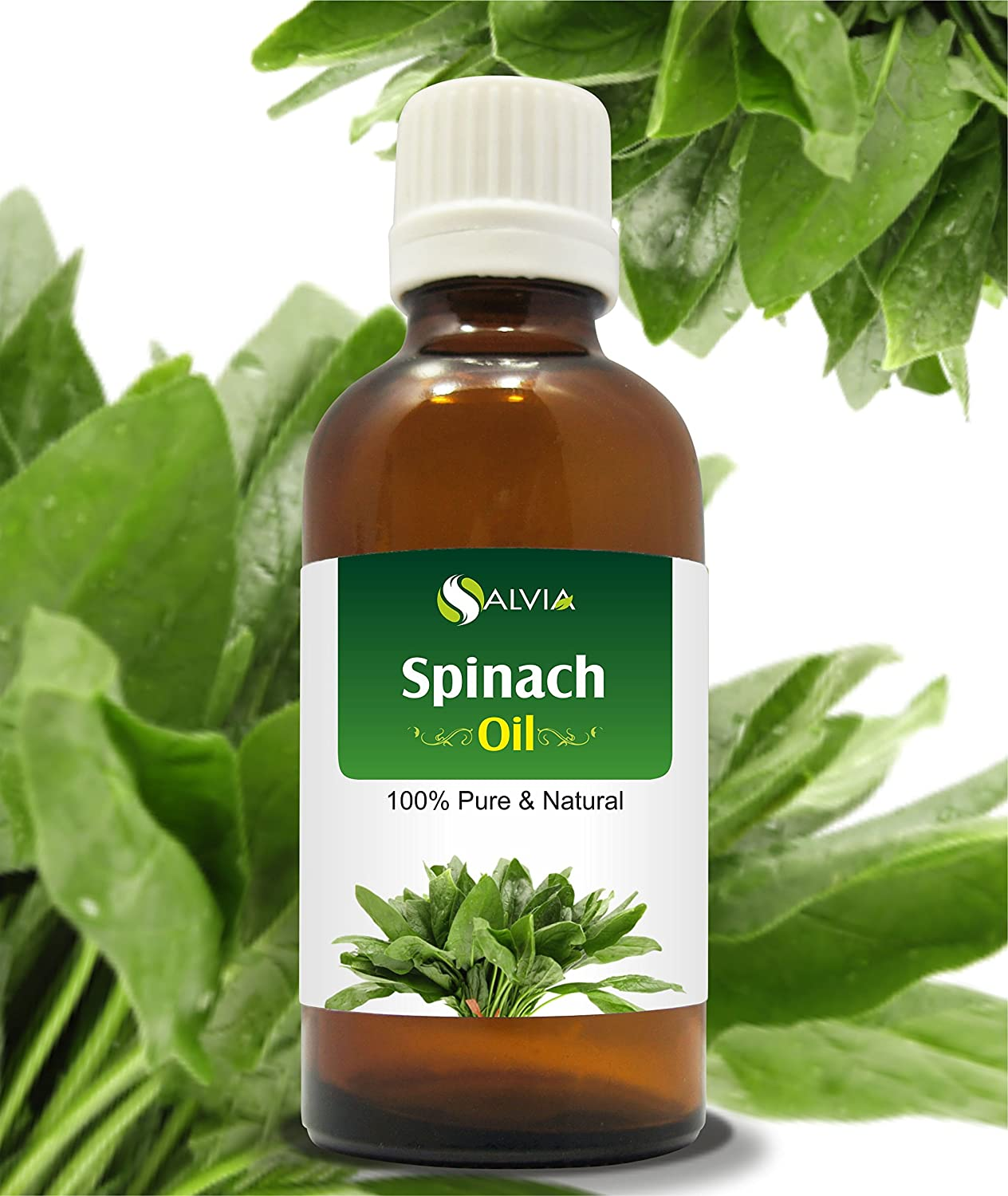 SPINACH OIL (SPINACIA OLERACEA) 100% NATURAL PURE CARRIER OIL 30ML Salvia