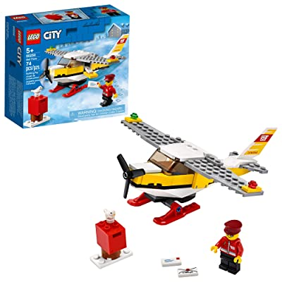 LEGO City Mail Plane 60250 Pretend-Play Toy, Fun Building Set for Kids, New 2020 (74 Pieces): Toys & Games