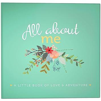 2302006765fd RubyRoo Baby First Year Baby Memory Book & Baby Journal. Baby Shower Gift &  Keepsake