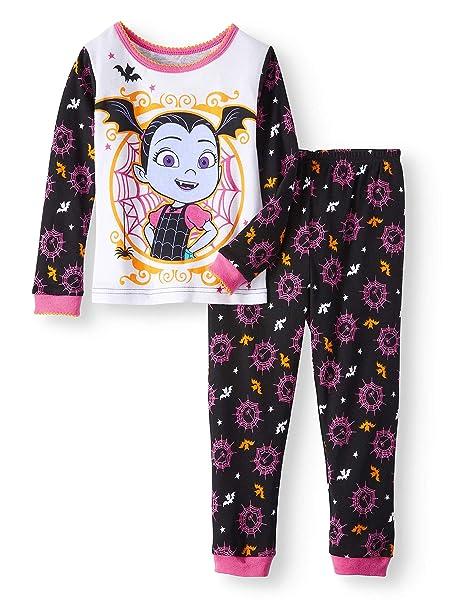 disney vampirina little girls toddler halloween pajama set 5t
