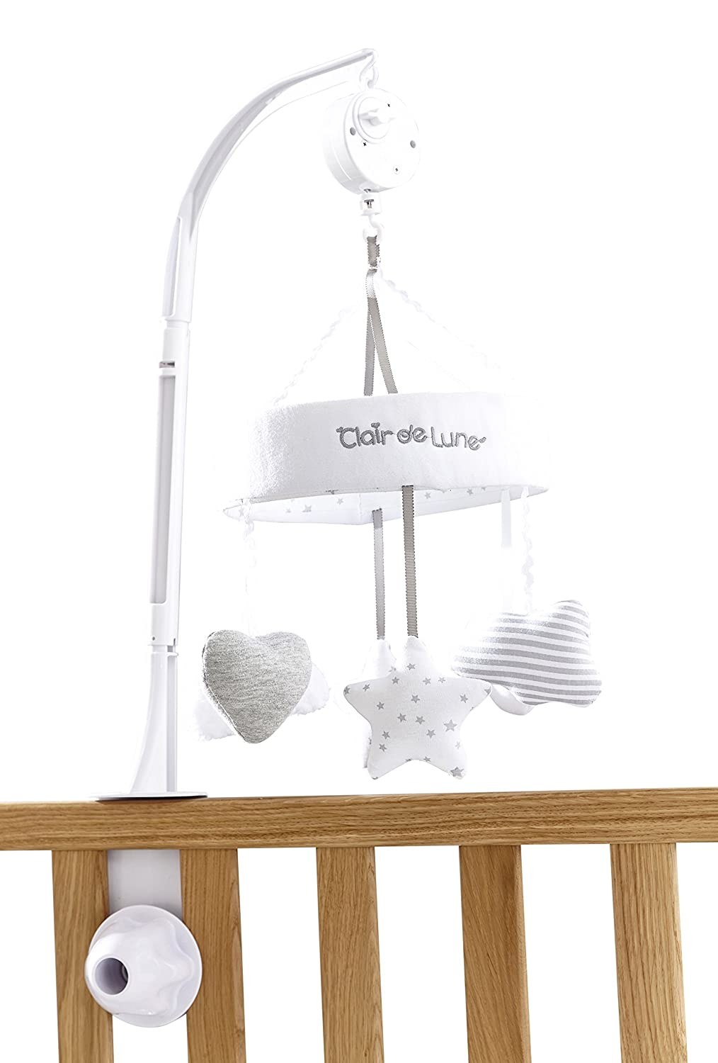 Clair de Lune Little Dreams Mobile, Grey CL5765GY