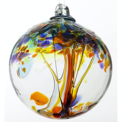 Kitras 6-Inch Tree of Enchantment, Happiness : Decorative Hanging Ornaments : Garden & Outdoor