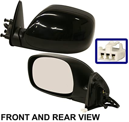For 00-06 Tundra Pickup Truck Power Non-Heated Rear View Mirror Left Driver LH