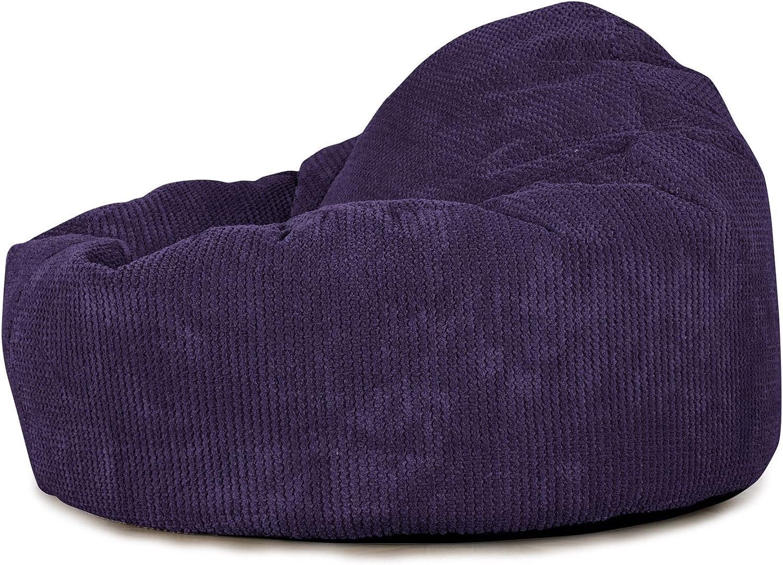 Egeo Blu Pompon Pouf Poltrona Sacco Mini Mammut Lounge Pug/®