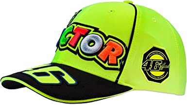 VR46 Hombre Rossi The Doctor Fluo Gorra, Amarillo, One Size ...