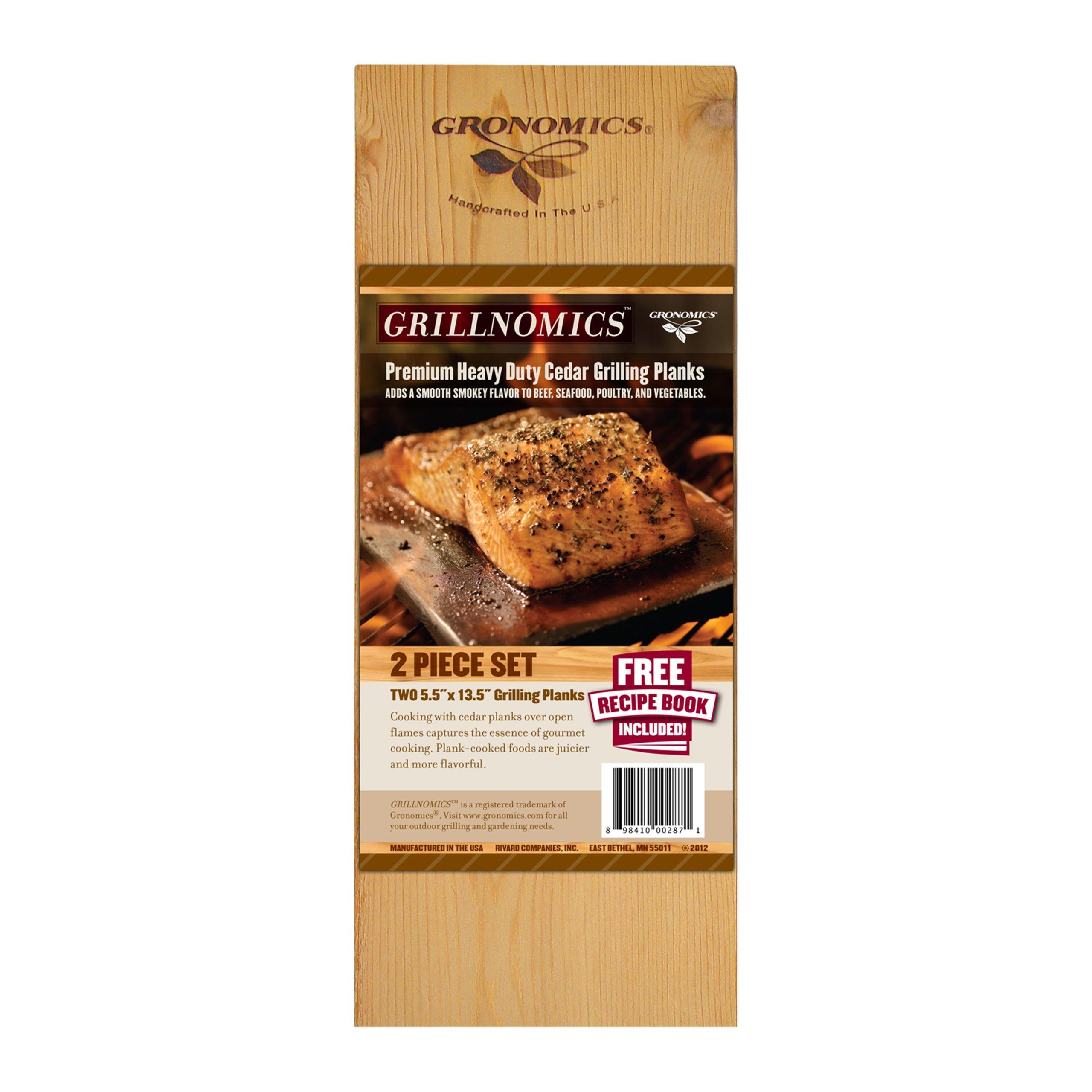 Gronomics GCP 5.5-13.5 2-Pack Grillnomics Cedar Grilling Planks