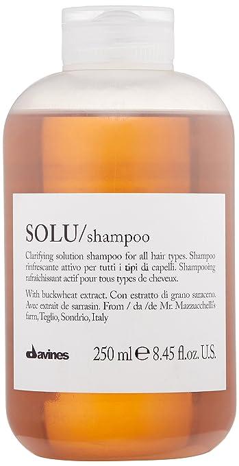 5. Davines Solu Shampoo - Best Deep-Cleansing Clarifying Shampoo
