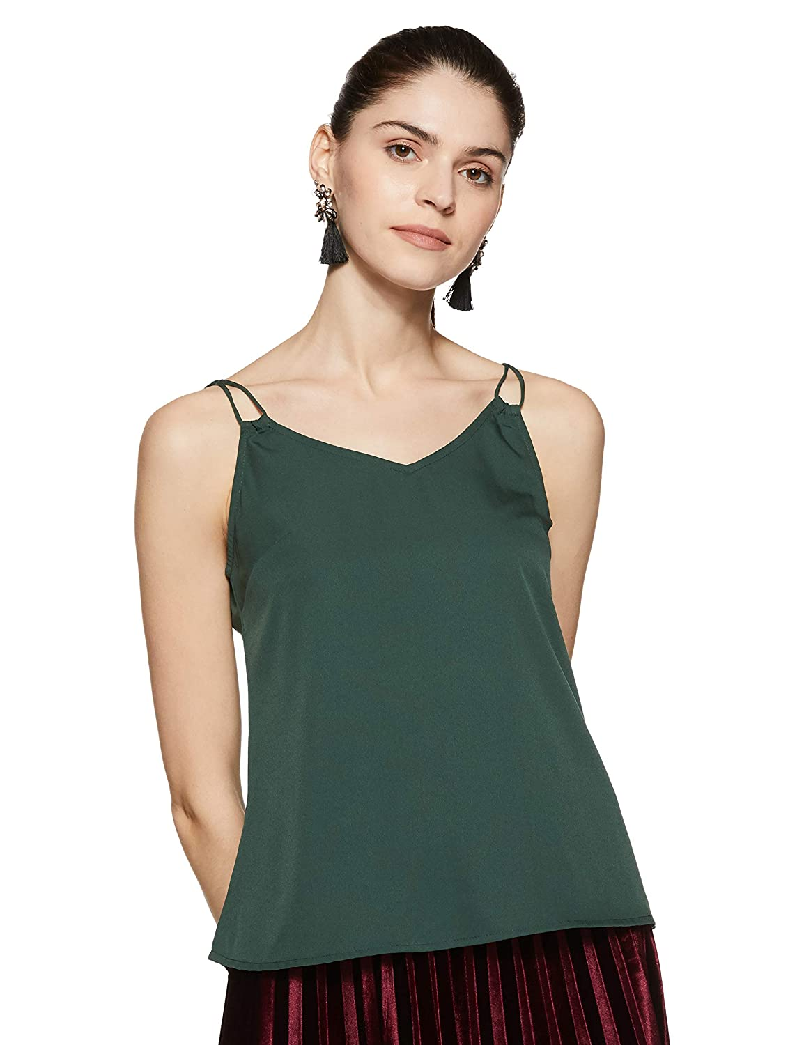 Stalk Buy Love Women's Green Merriam Top at Rs. 399 only