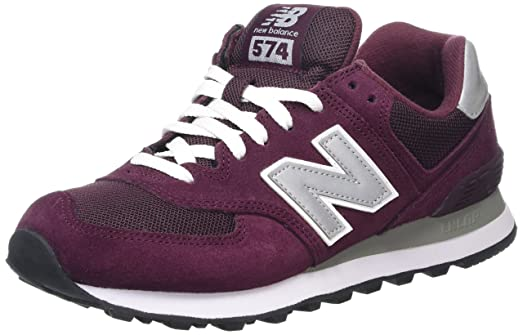 a3830f9dd2d3 new balance 574 burgundy black new balance shoes for women