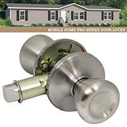 picture of Pro-Grade Classic Mobile Home Passage Door Knob