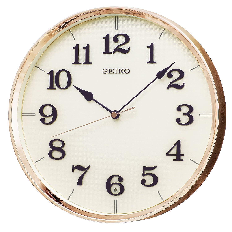 セイコー クロック 掛け時計 電波 アナログ 銅色 KX221G SEIKO B01LZATPWJ銅色