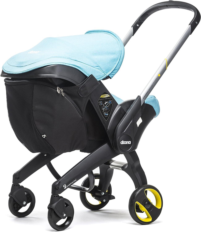 Simple Parenting Bolsa acoplada para Coche Doona Snap On negro