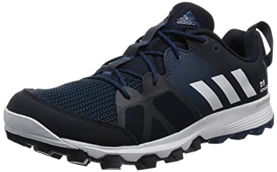 adidas Men's Kanadia 8 TR M Running Shoes, Black (Maosno/Ftwbla/Acetec