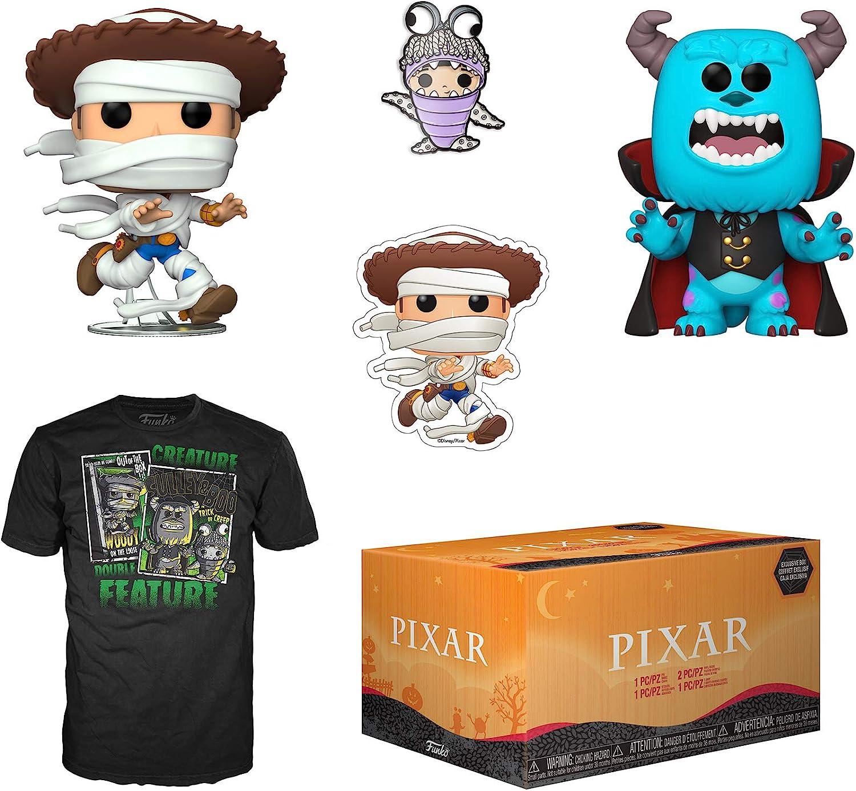 Funko Pixar Halloween Collectors Box with 2 Pop! Vinyl Figures, Medium (51055)