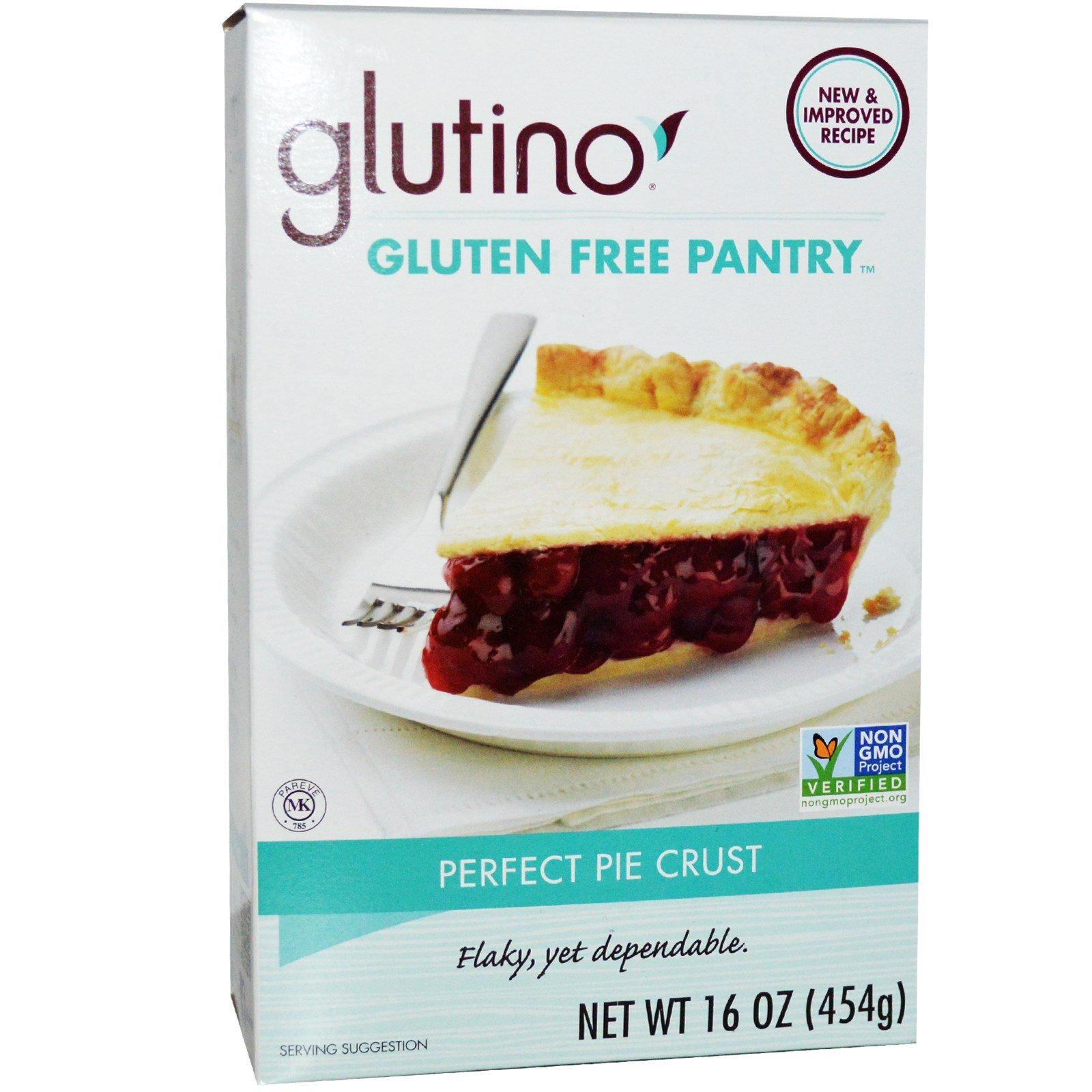 Gluten-Free Pantry, Glutino, Perfect Pie Crust, 16 oz (454 g) - 2pc