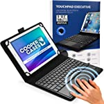 Cooper Touchpad Executive [Multi-Touch Mouse Keyboard] case for 9-10.5