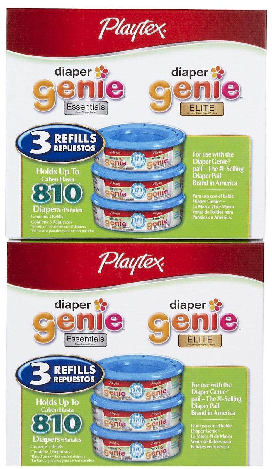 Playtex Diaper Genie Refill - 6 pk