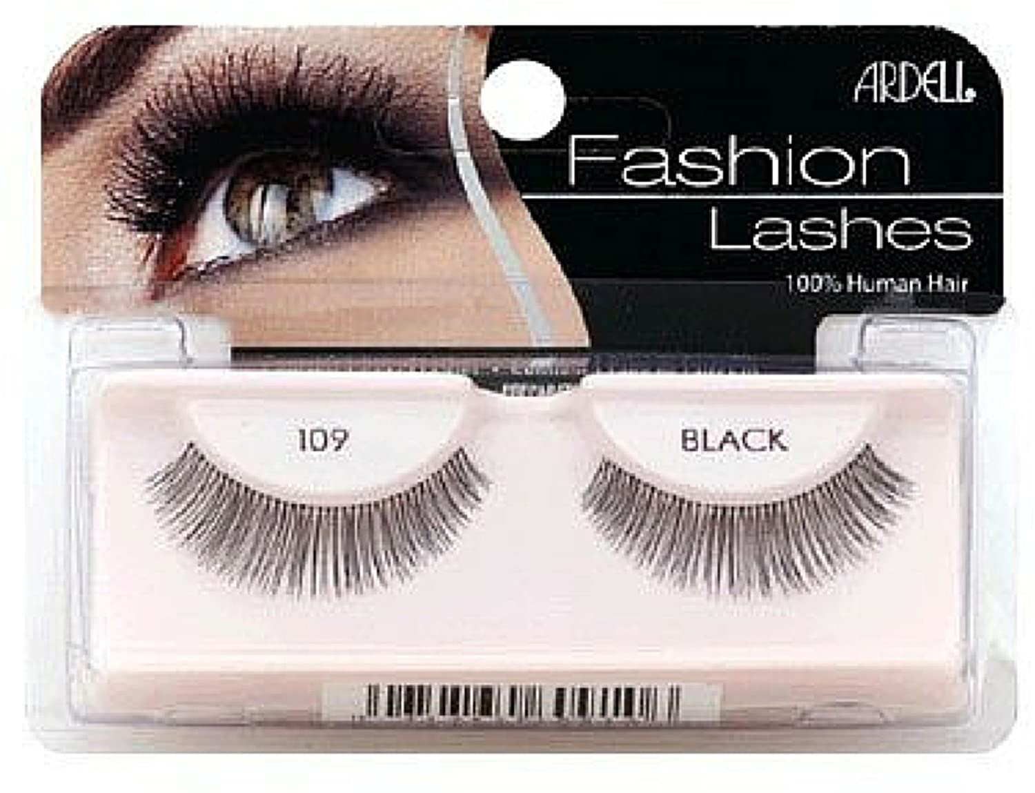 3ce9c502d58 Amazon.com : Ardell Fashion Lashes, Black [109] 1 pair (Pack of 12) : Beauty