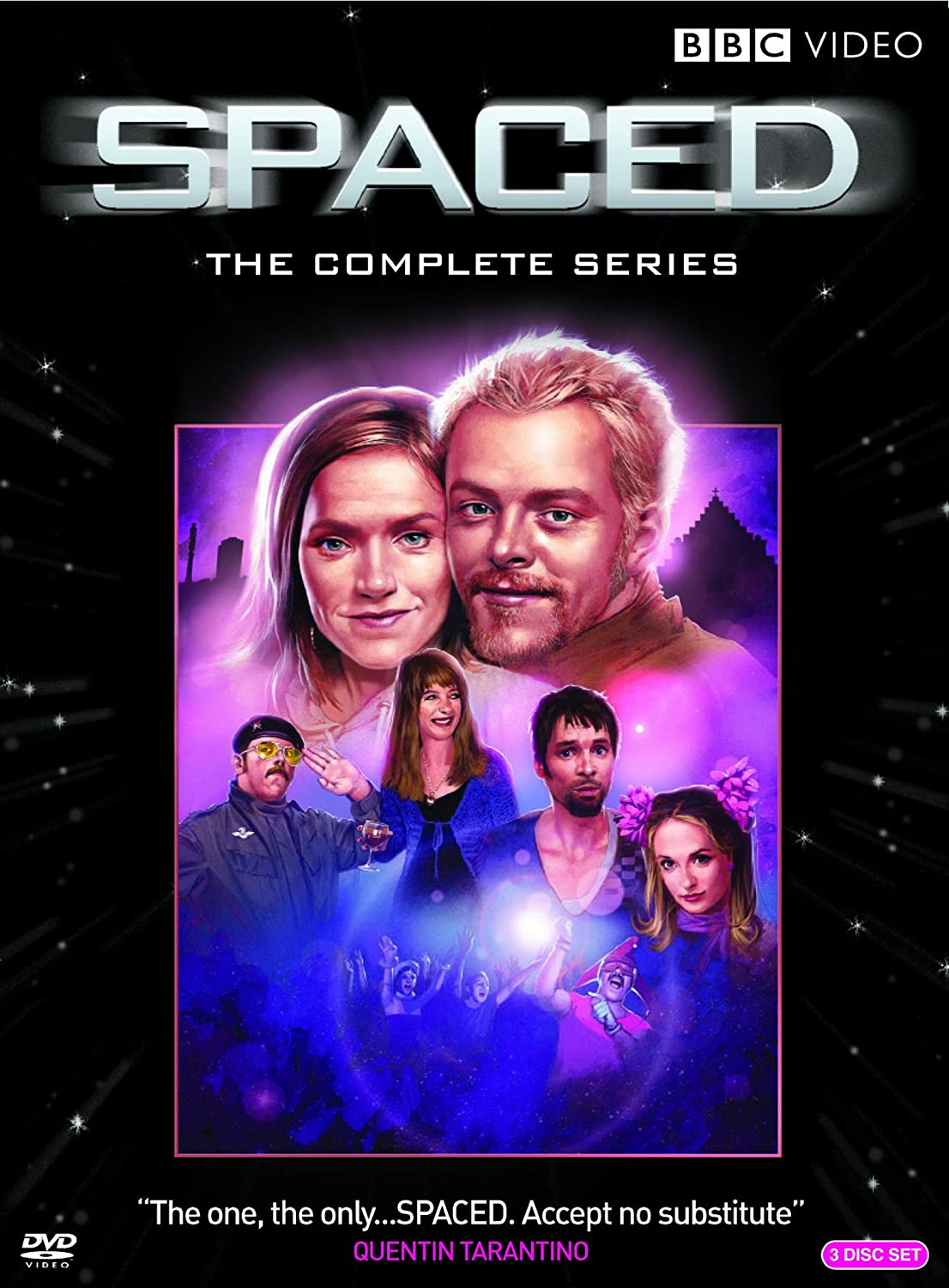 Amazoncom Spaced The Complete Series Various Movies Tv